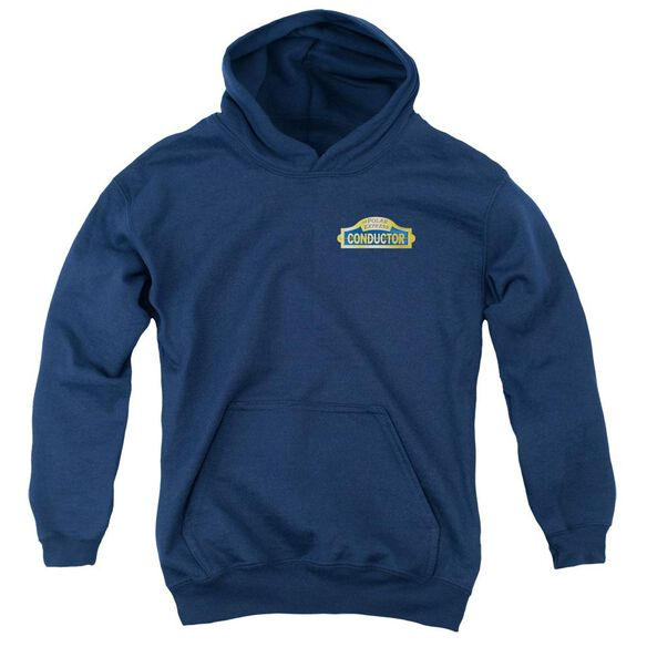 Polar Express Conductor Youth Pull Over Hoodie