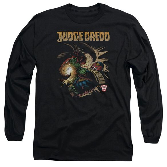 Judge Dredd Blast Away Long Sleeve Adult T-Shirt