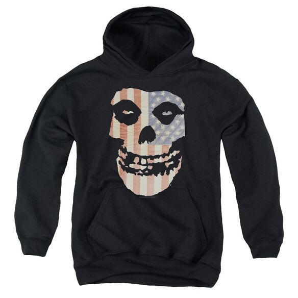 Misfits Fiend Flag Youth Pull Over Hoodie