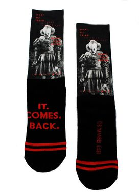 IT Chapter 2 - It Comes Back Socks [1 pair]