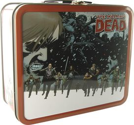 Walking Dead Comic Scene Lunch Box