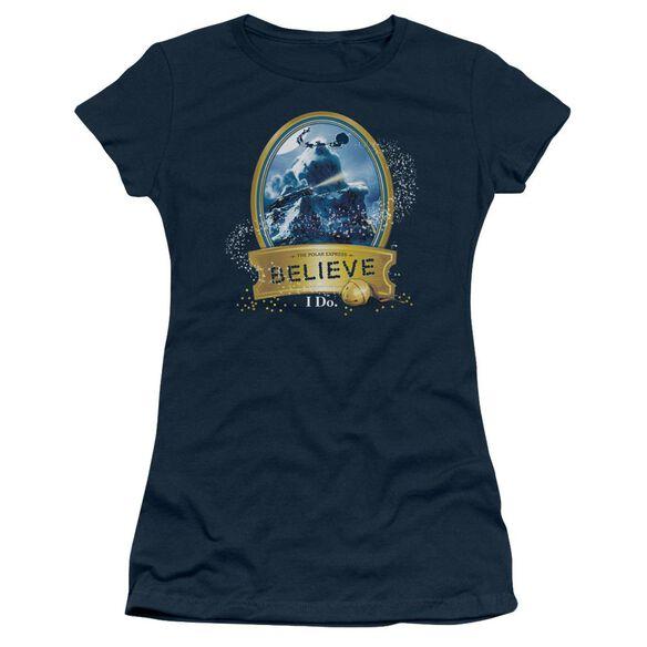 Polar Express True Believer Short Sleeve Junior Sheer T-Shirt
