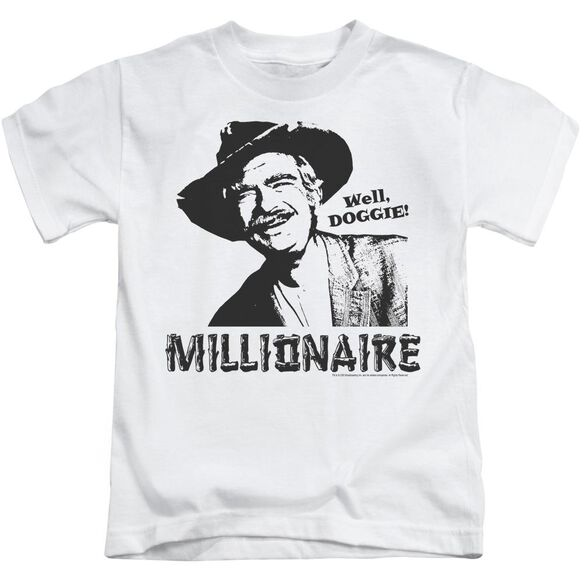 Beverly Hillbillies Millionaire Short Sleeve Juvenile White T-Shirt