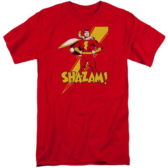 Dc Shazam! Short Sleeve Adult Tall T-Shirt
