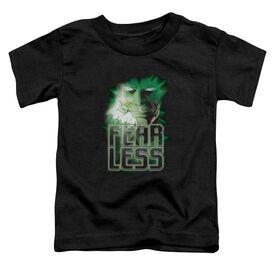 Green Lantern Fearless Short Sleeve Toddler Tee Black Sm T-Shirt
