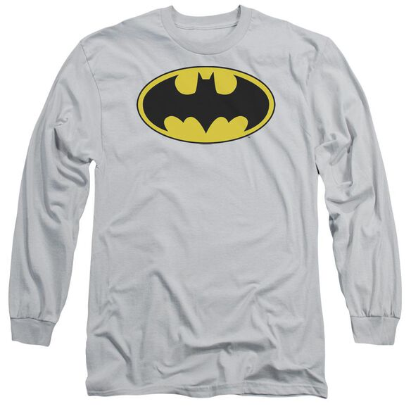 Dc Batman Logo Long Sleeve Adult T-Shirt