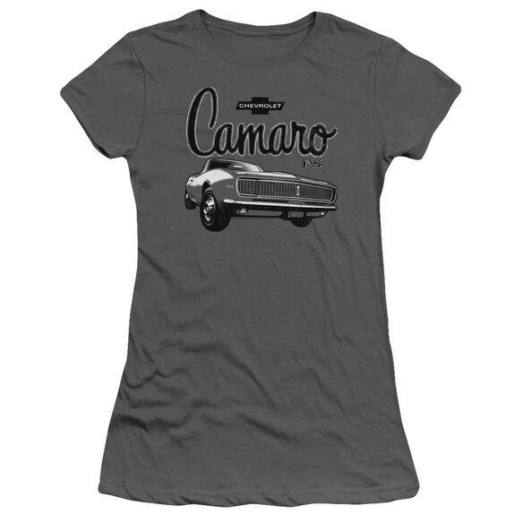 Chevrolet Script Car Short Sleeve Junior Sheer T-Shirt
