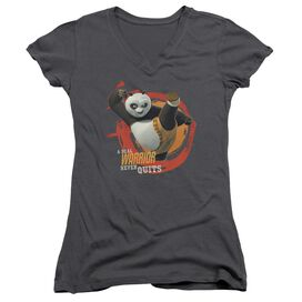 Kung Fu Panda Real Warrior Junior V Neck T-Shirt