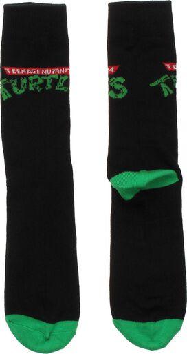 Ninja Turtles Logo Crew Socks