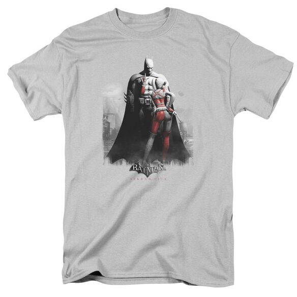 Arkham City Harley And Bats Short Sleeve Adult T-Shirt