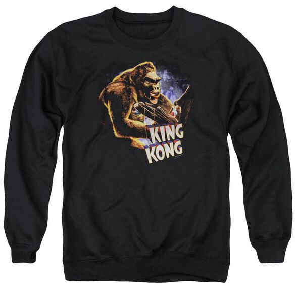King Kong Kong And Ann Adult Crewneck Sweatshirt