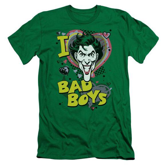 Dc I Heart Bad Boys 2 Short Sleeve Adult Kelly T-Shirt
