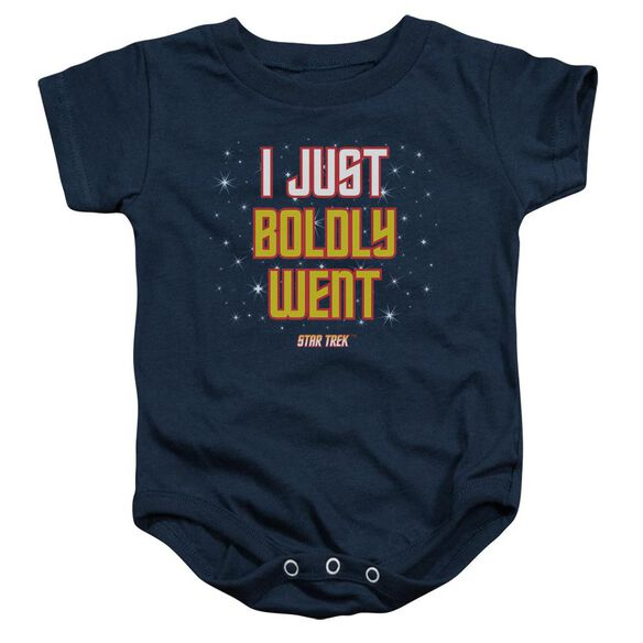 Star Trek Boldly Went Infant Snapsuit Navy Md