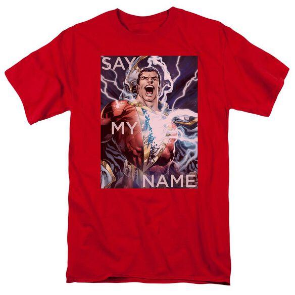 Jla Say My Name Short Sleeve Adult T-Shirt