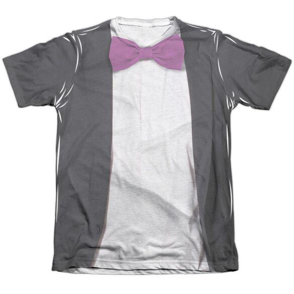 Batman Classic Tv Penguin Uniform Adult Poly Cotton Short Sleeve Tee T-Shirt