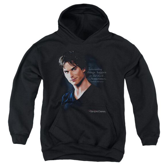 Vampire Diaries Sometimes Youth Pull Over Hoodie