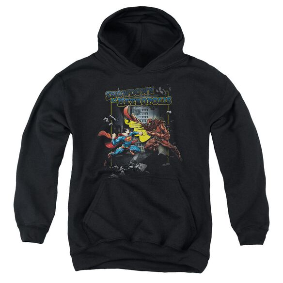 Superman Showdown Youth Pull Over Hoodie