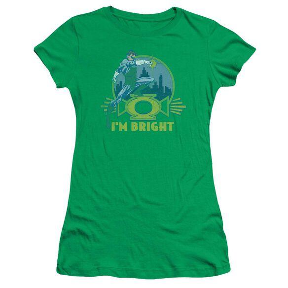 Lantern I'm Bright Short Sleeve Junior Sheer Kelly T-Shirt