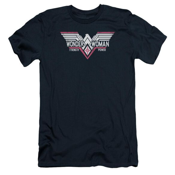 Batman V Superman Thunder Logo Short Sleeve Adult T-Shirt