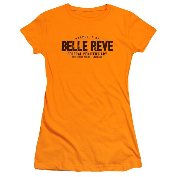 Batman Belle Reve Short Sleeve Junior Sheer T-Shirt