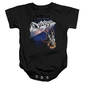 Dokken Tooth And Nail Infant Snapsuit Black