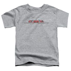 Gmc Chrome Logo Short Sleeve Toddler Tee Athletic Heather T-Shirt