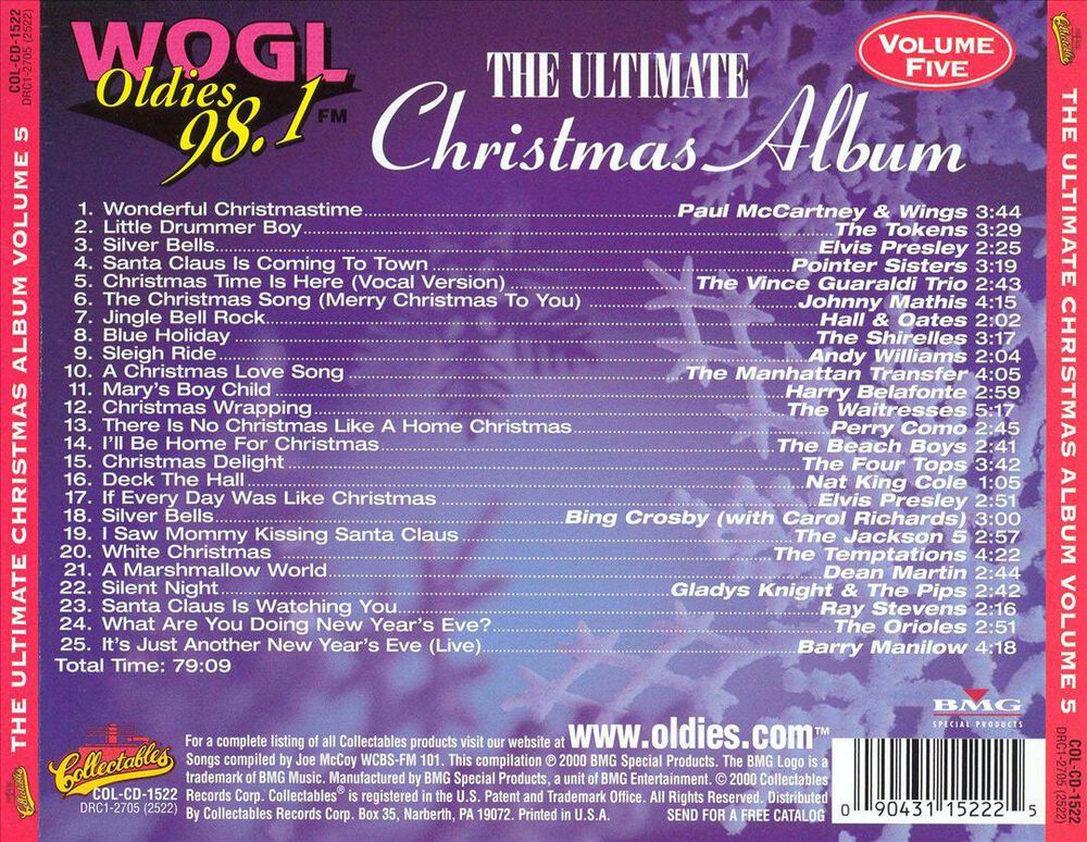 Ultimate Christmas Album, Vol. 5 by Various Artists - New on CD | FYE