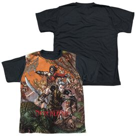 Zenoscope Neverland Short Sleeve Youth Front Black Back T-Shirt