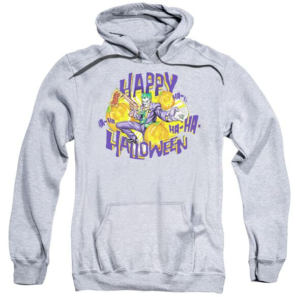 Batman Ha Ha Halloween Adult Pull Over Hoodie Athletic