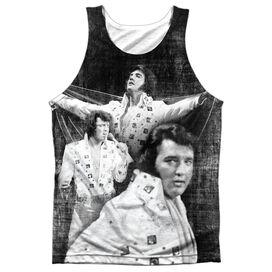 Elvis Legendary Performance Adult 100% Poly Tank Top