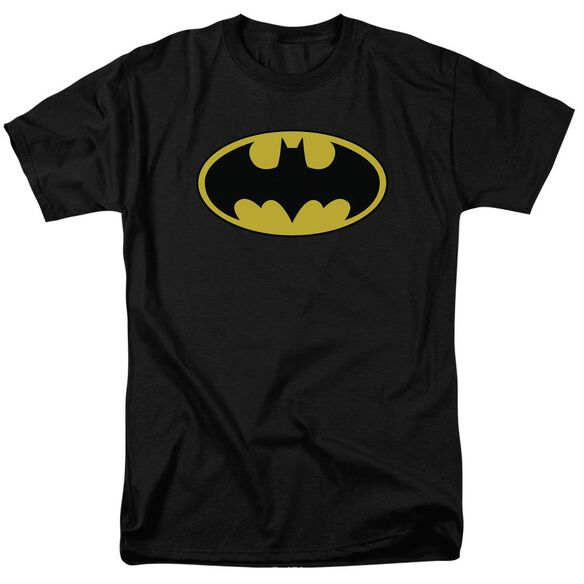 Batman Classic Logo Short Sleeve Adult T-Shirt