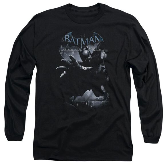 Batman Arkham Origins Out Of The Shadows Long Sleeve Adult T-Shirt