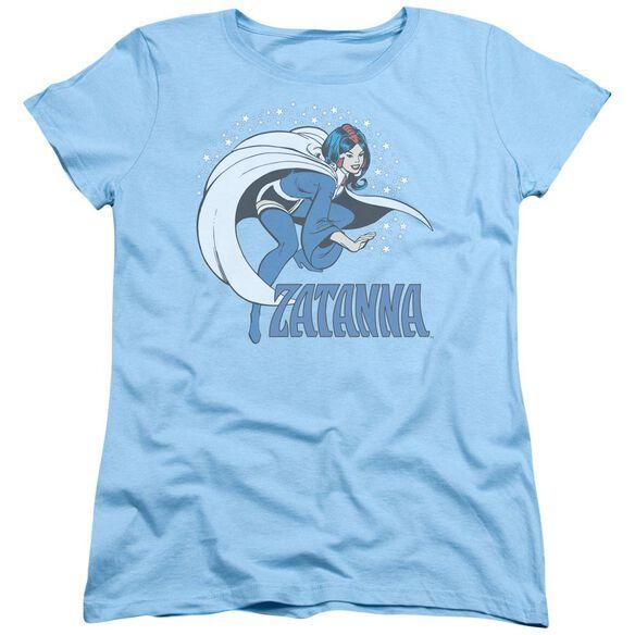 Dc Zatanna Short Sleeve Womens Tee Light T-Shirt