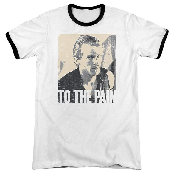 Princess Bride To The Pain Adult Ringer White Black