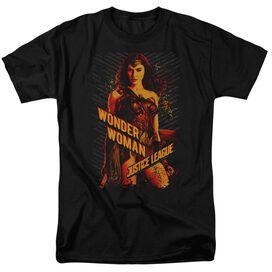 Justice League Movie Wonder Woman Short Sleeve Adult T-Shirt