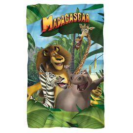 Madagascar Jungle Time Fleece Blanket