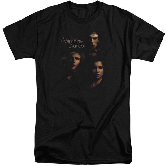 Vampire Diaries Smokey Veil Short Sleeve Adult Tall T-Shirt