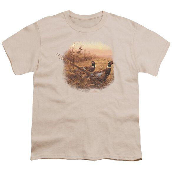 Wildlife First Alert Pheasants Short Sleeve Youth T-Shirt