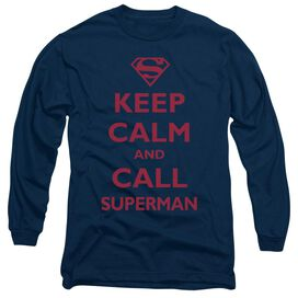 SUPERMAN CALL SUPERMAN- L/S ADULT T-Shirt