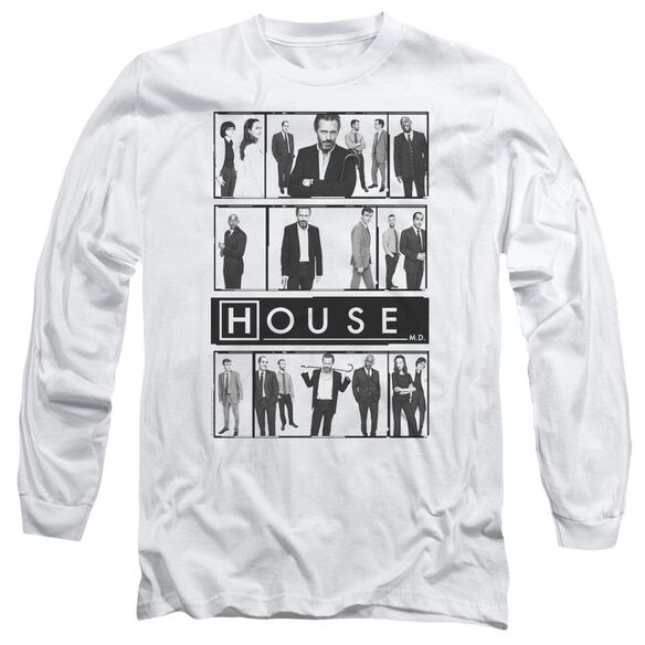 House Film Long Sleeve Adult T-Shirt