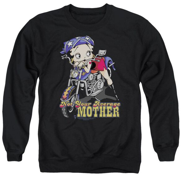 Betty Boop Not Your Average Mother Adult Crewneck Sweatshirt