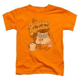 Tootsie Roll Original Moocher Short Sleeve Toddler Tee Orange Lg T-Shirt