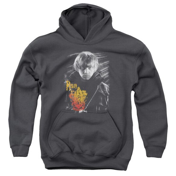 Harry Potter Ron Portrait Youth Pull Over Hoodie