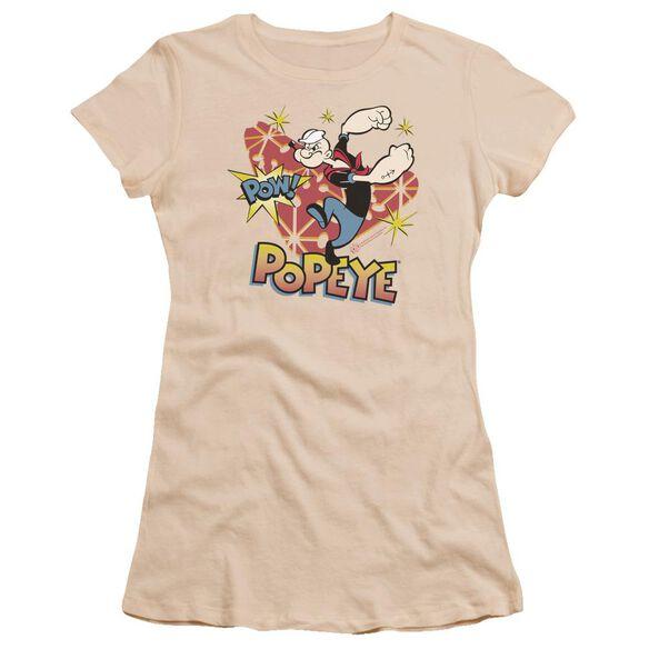Popeye Pow! Premium Bella Junior Sheer Jersey