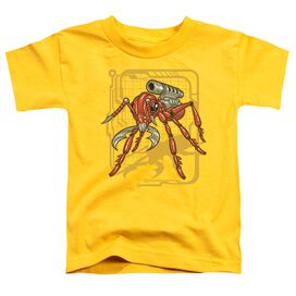 Ant Short Sleeve Toddler Tee Yellow T-Shirt