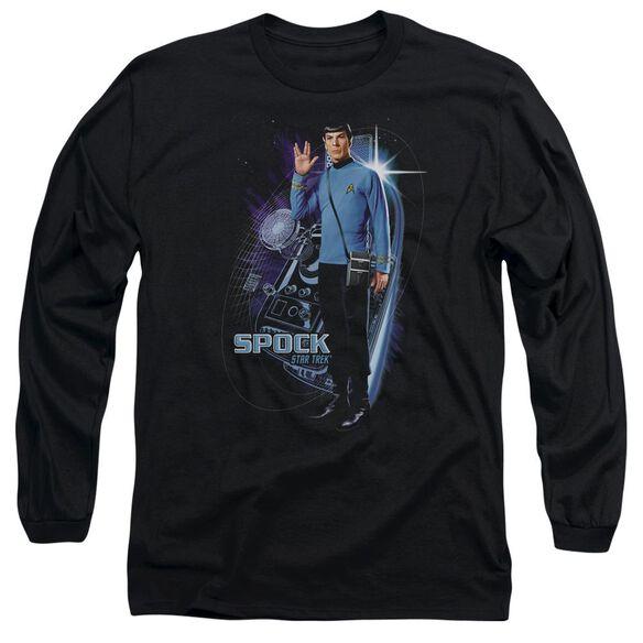 Star Trek Galactic Spock Long Sleeve Adult T-Shirt