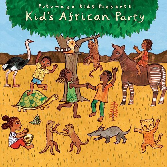 Putumayo Kids Presents - Kids African Party