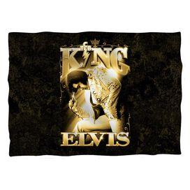 Elvis Presley The King Pillow Case White