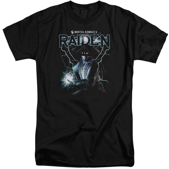 Mortal Kombat Raiden Short Sleeve Adult Tall T-Shirt