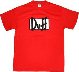 Simpsons Duff Logo T-Shirt